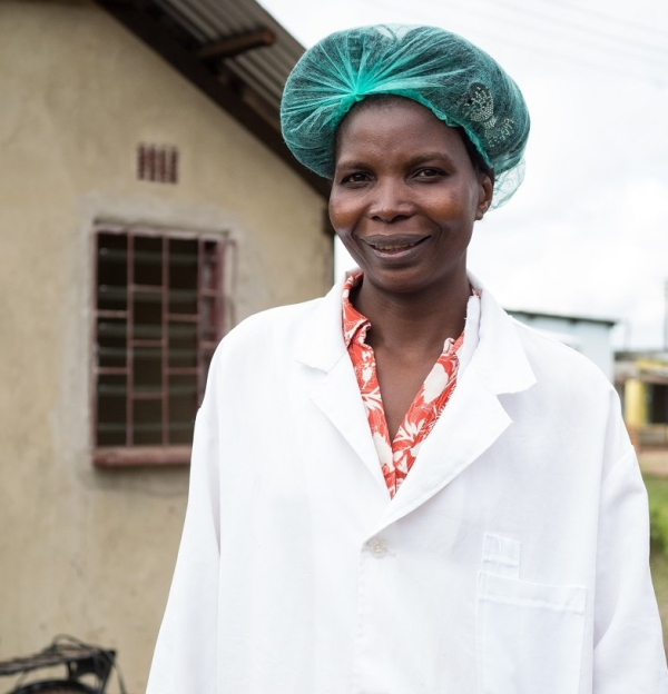 Zambian Milk Collection Centre manager pleased with improved milk quality